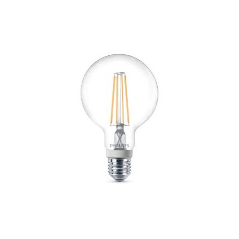 PHILIPS LED ŽIAROVKA E27 GLOBE FILAMENT DIMMABLE WW 7W=60W