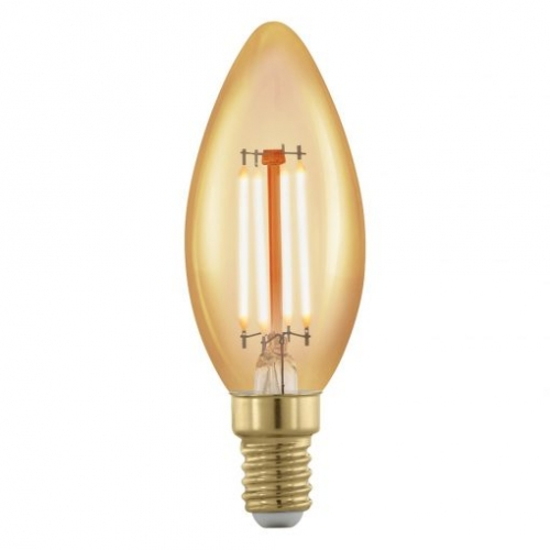LED žiarovka E14 C37 4W=30W 320lm 1700K VINTAGE DIMMABLE