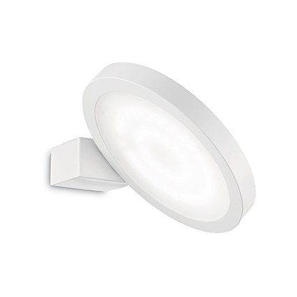 IDEAL LUX FLAP ROUND BIANCO 155395