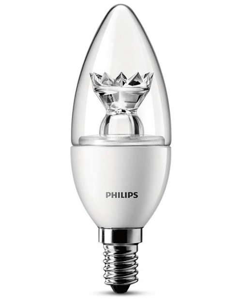 PHILIPS LED ŽIAROVKA 4W/25W E14 CANDLE čÍRA LOTUS TECHNOLOGY