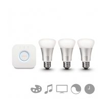 PHILIPS HUE STARTER KIT 3 SET E27 color + bridge