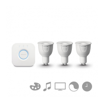 PHILIPS HUE Starter kit 3 SET GU10 White and color + bridge