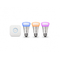 PHILIPS HUE 10W RGB A60 E27 3 set EU