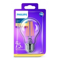 PHILIPS LED E27 8W/75W 3000K FILAMENT