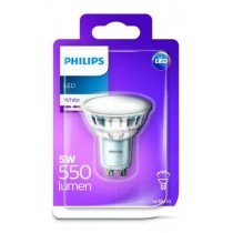 PHILIPS LED GU10 5W 550LM 3000K