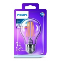 PHILIPS LED E27 8W/75W 4000K FILAMENT