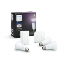 PHILIPS HUE 10W RGB A60 E27 3 set + switch + bridge