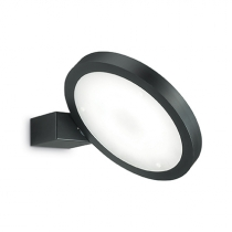 IDEAL LUX FLAP ROUND NERO 155401