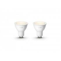 PHILIPS HUE White žiarovka 5,5W GU10 EU 2700K SET 2KS