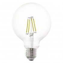 LED žiarovka E27 G95 6W=60W 806lm 2700K DIMMABLE