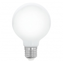 LED žiarovka E27 G95 7W=60W 806lm 2700K MILKY DIMMABLE